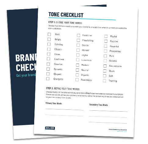 Brand Tone Checklist Downloadable