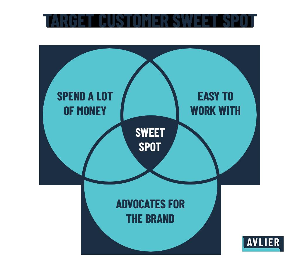 Target Audience Venn Diagram Infographic